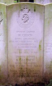 Gilchrest Grave