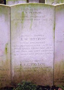 Gordon Taylor Gravestone